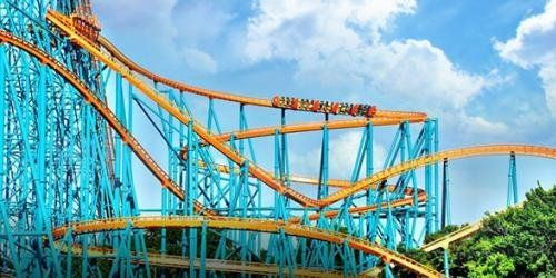 Six Flags Reopens To The General Public On June 22 A New Online Reservation System Allow Six Flags Great Adventure Six Flags Over Texas Nightlife Travel
