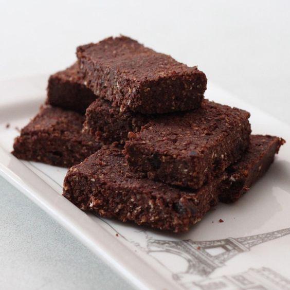 Dark Chocolate Brownie Bites - Fitnessmagazine.com