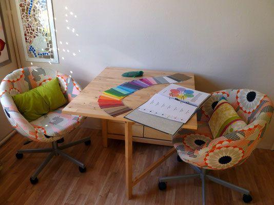 FARBPSYCHOLOGIE - Farbwunder - Ganzheitliche Farbberatung - farbpsychologie leuchtende farben interieur design