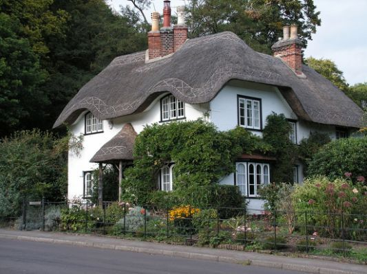 Thatched Roof English Cottage Country Cottage Garden English Country Cottages English Cottage