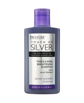 Touch of silver shampoo for blonde and grey hair. Makes such a difference!