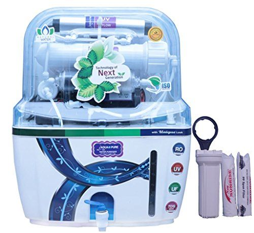 Aqua Z Pure Uz1219 Ro Uv Uf Alkaline Tds Controller Water Purifier With Gift Pure Products Water Purifier Water