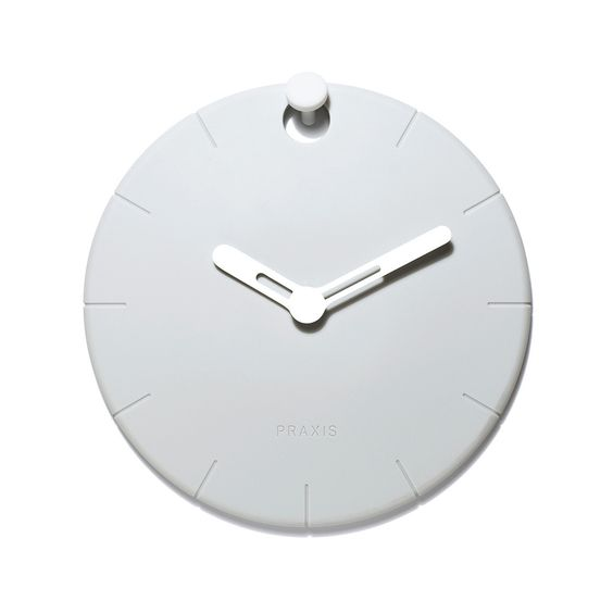 Fab.com | HOOCK Rubber Wall Clock White