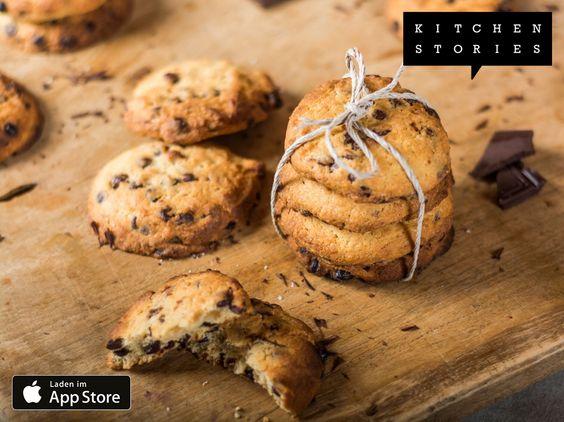 """Ich koche gerade """"Cookies mit Schokoladenstückchen"""" mit @1KitchenStories - Download http://itunes.apple.com/app/id771068291"""