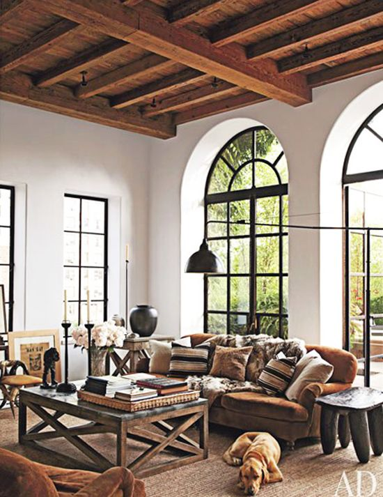 Rustic Modern Living Room Modern Rustic Living In New York City  Rustic Modern Living Room .