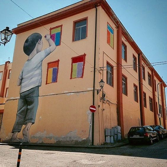 @seth_globepainter in Italy
