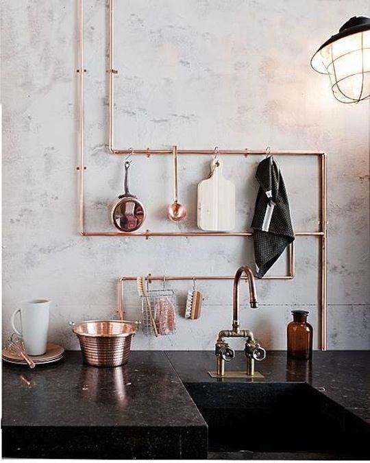 Die 21 besten Bilder zu Cocinas auf Pinterest Kupfer, Keramik - farben für küchenwände