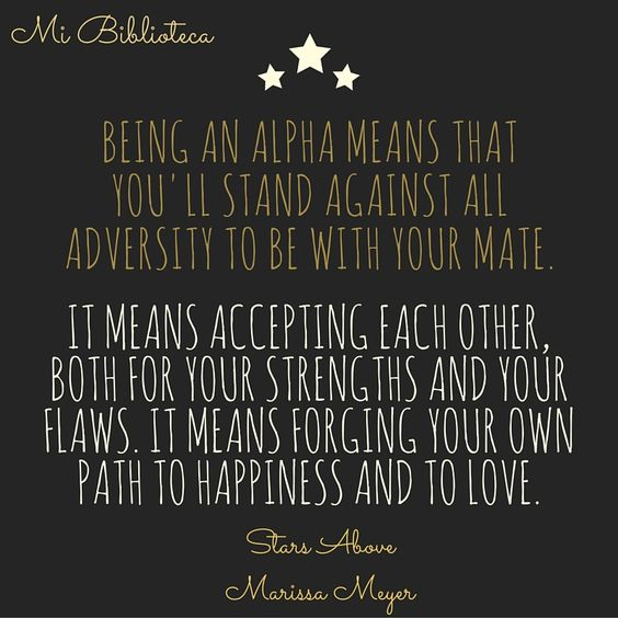 Quote Stars Above #MarissaMeyer: