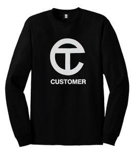 Image of TELFAR CUSTOMER Long-Sleeve T-shirt