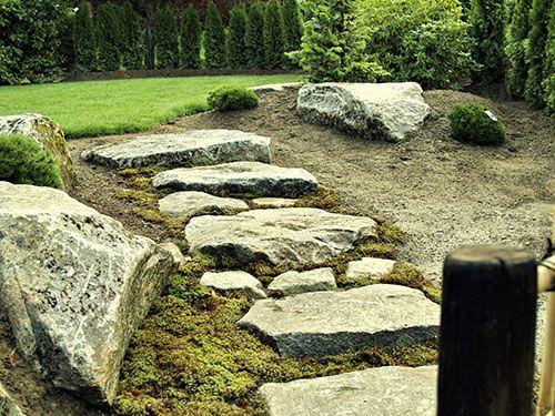 Zen Japanese Rock Garden - Rock \ Stone Garden Design Zen