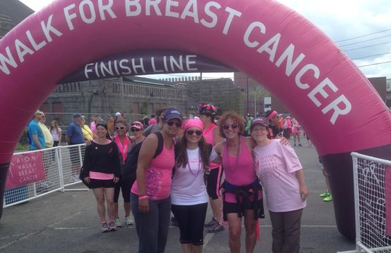 Avon Breast Cancer 2Days Walk 2014 We Did It.......