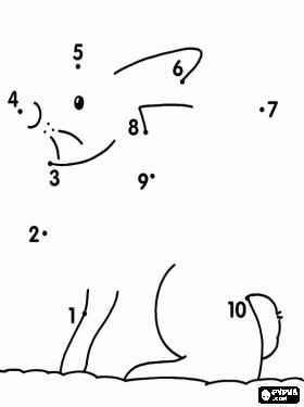 easy dot to dots - Google Search | Ligar os pontos para formar ...