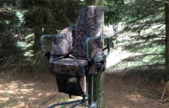 Tree Stands Deer Hunting And Seat Cushions On Pinterest