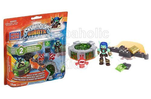 Get ready to kick it and stick it to the competition with Stealth Elf's Battle Portal by Mega Bloks Skylanders Giants. Set this Life character on the Battle Portal with light up features and aim for the battle bumper to knock and collect loot items. Practice your battle skills in target or rebound mode or combine with the Ultimate Battle Arcade to compete with friends! To order…