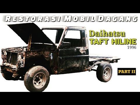 Daihatsu Taft Hiline 1996 Modifikasi Restorasi Part Ii Youtube