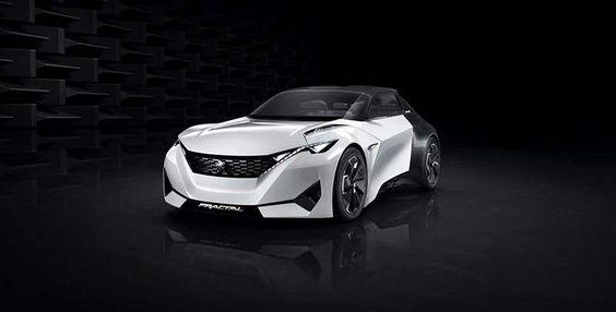 Peugeot Fractal electric car concept  , - ,   Peugeot Fractal ...