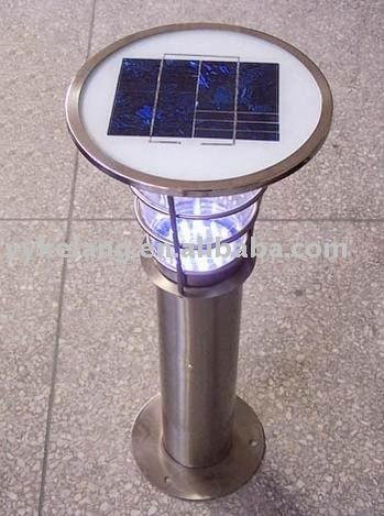 1.stainless steel outdoor light.widely used in the garden2.solar power3.certificate:CE GS4.IP44,TRANSPARET PC great pin!