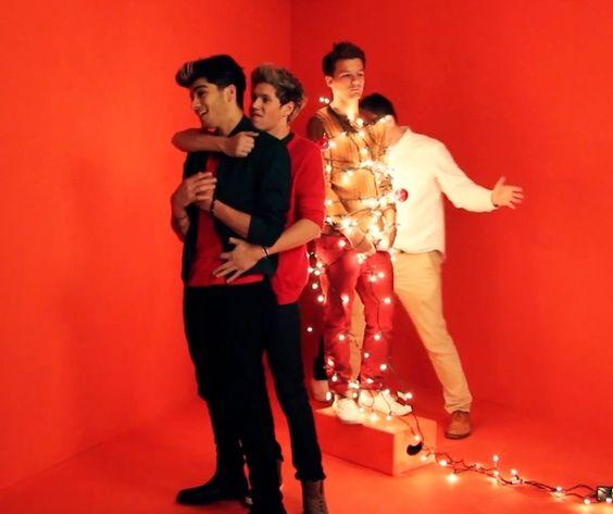 Harry Styles Christmas Photoshoot