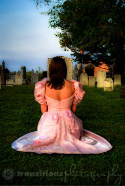 I love the colours that came out in this. Trash The Dress, Cemetery Style.