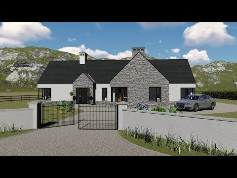 Irish House Plans Dorm161 Exterior Youtube Irish Houses Irish House Plans Farmhouse Renovation