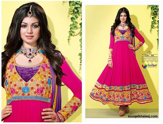 If you want to buy Ayesha Takia DESIGNER Long ANARKALI #SemiStichedSUIT-704, then Click Here To Buy @ http://www.souqelkhaleej.com/ayesha-takia-designer-long-anarkali-semi-stiched-suit-704.html