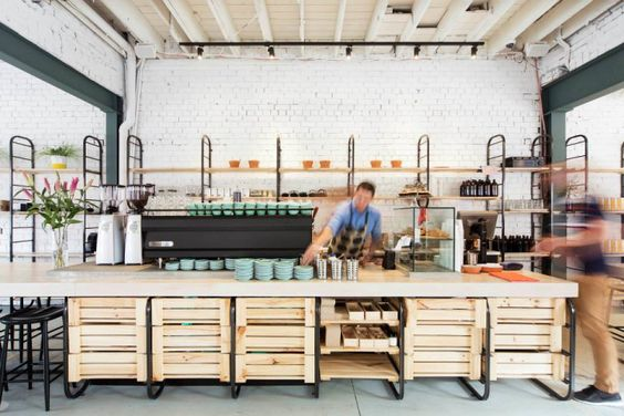 BARRY coffee and food by Techne Architects, Melbourne – Australia