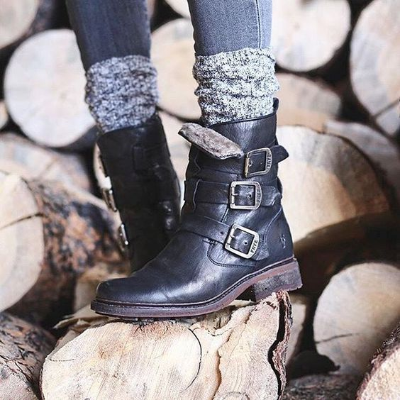 Valerie Strappy Shearling | The Frye Company