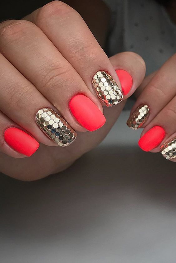 61 Summer Nail Color Ideas For Exceptional Look 2019 Cute Summer