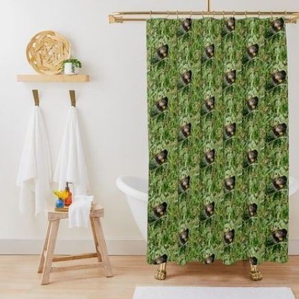 Bumble Bee Shower Curtain In 2020 Home Decor Printed Shower