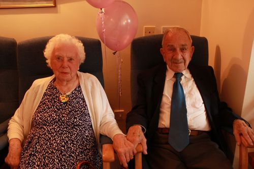 Britain's Oldest Married Couple Tweet Valentine's Day Relationship Advice!