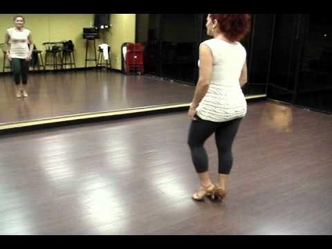 Jorjet Alcocer - Dominican bachata footwork tutorial