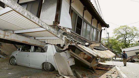 Neun Tote, viele Verletzte: Schweres Erdbeben erschüttert Japan