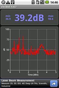 Android App: Fonometro - misura Rumore e livello Suoni ( clicca l'immagine x leggere il post )
