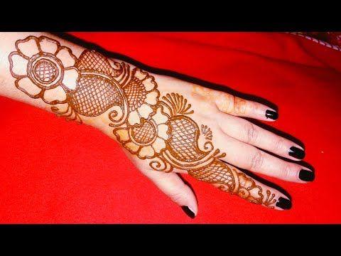 Very Easy Mehndi Design For Hand Simple Mehndi Henna Design