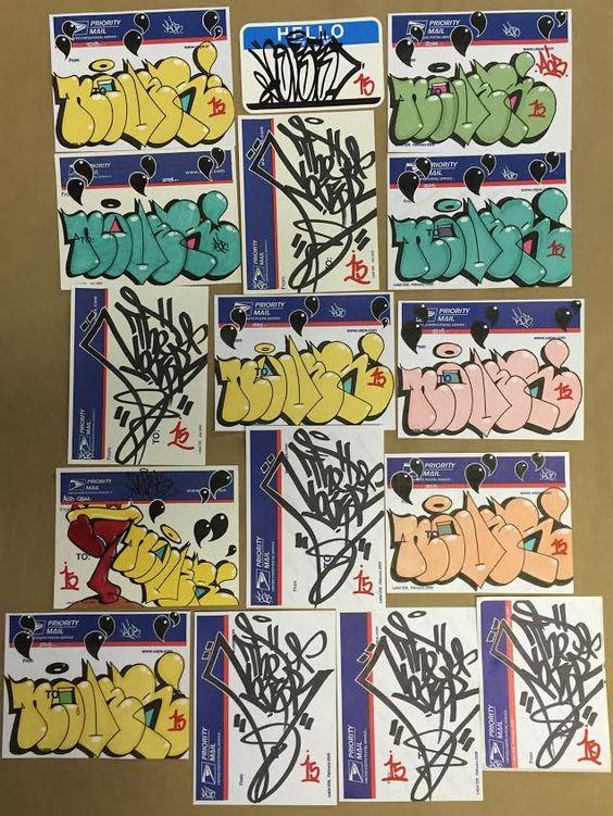 NOVER AOB - blue tops #nover #novernyc #noveraob #graffiti #handstyle #228label #throwie #nyc #newyork #trades #graff #ogm #gwb
