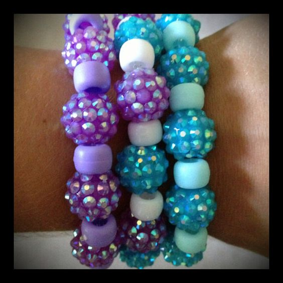 Ice Princess Kandi Singles by KandiiRave on Etsy, $8.00