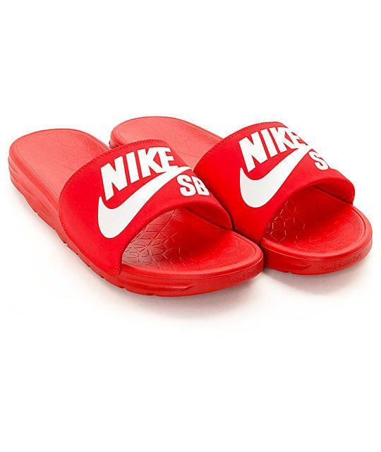 nike soft slide sandals