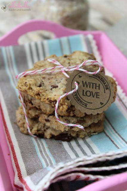 ullatrulla backt und bastelt: Haferflocken-Birnen-Cookies mit Schokolade: ich…