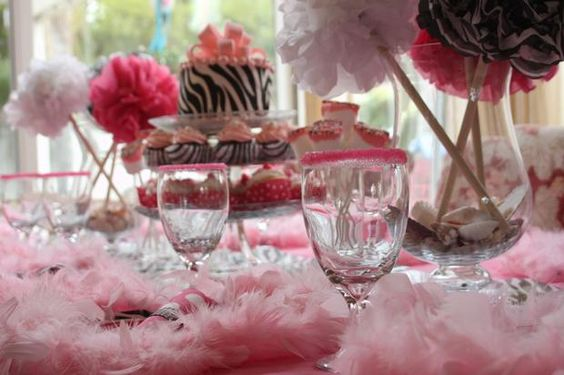 Teen party ideas.  Zebra idea.  Hostess with the Mostess® - Diva Dance Party by Kindofish Designs