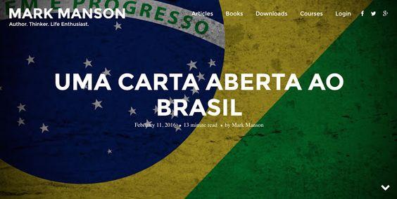 MEU BLOG: O jeitinho brasileiro precisa acabar e logo!