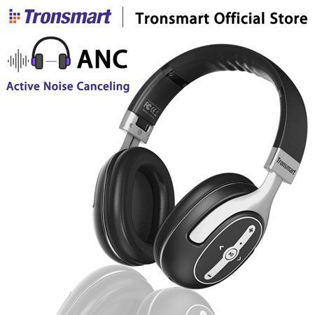 Grtsunsea Tronsmart Encore S6 Active Noise Cancelling Max 23db Over Ear Headphones Wireless Earphone H In 2020 Noise Cancelling Headphones Active Noise Cancellation