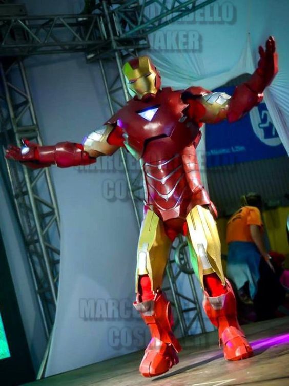 Marcelo Rebello Cosmaker: Cosplays participando do Animextreme de 2016 #ironman #cosplay