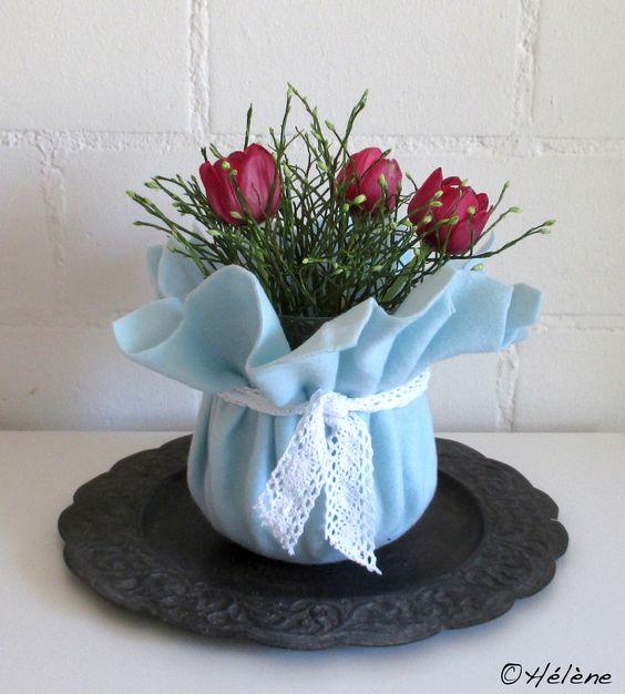 Filz + Tulpen