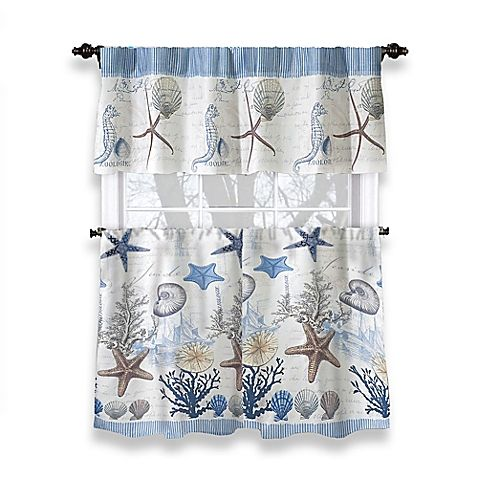 Bring Your Seaside Vacation Home With The Antigua Shower Curtain