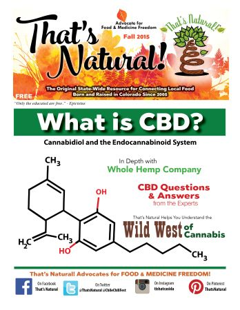 TN Fall 2015, Web Version - Learn more about #CBD #Cannabidiol #CBD #Oil and your amazing #Edocannabinoid System that is in YOU!  That's Natural is proud to offer a premium CBD-rich hemp oil that is Pure, Potent, and Trusted.  http://cbdoil.life #natural #medicine