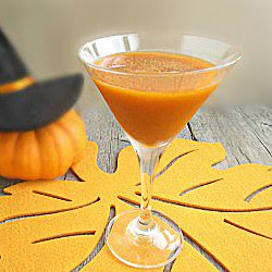 Pumpkin Party Martini - I just may have to try this on day - might be tasty