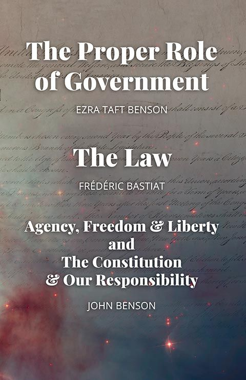 The Proper Role Of Government And The Law Ezra Taft Benson Constitution Quotes Taft