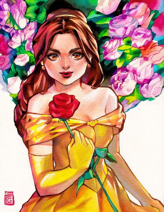 Belle by rianbowart.deviantart.com on @DeviantArt