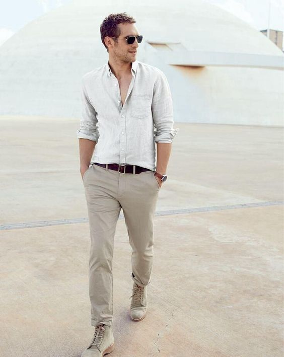 Nice and simple summer style