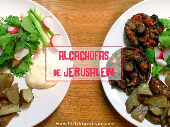 Alcachofas de Jerusalem